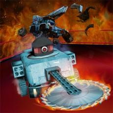 机器人车战摔跤