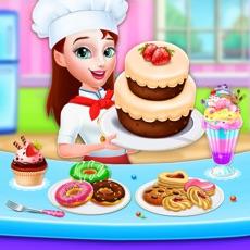 甜面包店甜点厨师