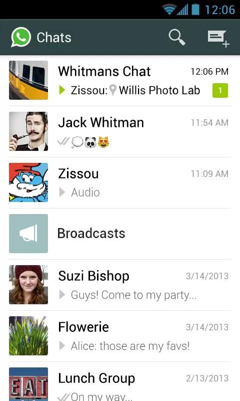 WhatsApp安卓版 V2.7.8509